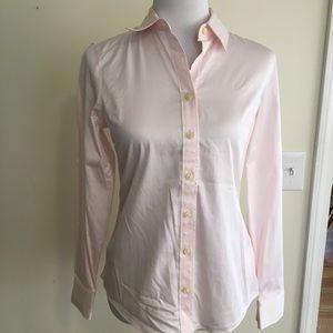 NWT Banana Republic Pale Pink Button Up Shirt 4